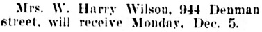 Vancouver Daily World, December 5, 1910, page 15, column 2.