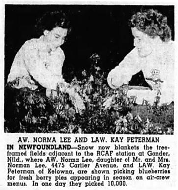 Vancouver Sun, January 3, 1945, page 12, columns 4-5.