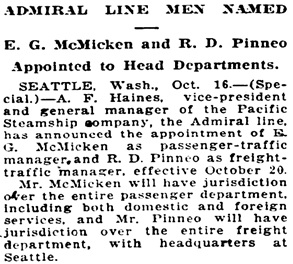 The Sunday Oregonian. (Portland, Ore.) 1881-current, October 17, 1920, Section One, Image 22; http://oregonnews.uoregon.edu/lccn/sn83045782/1920-10-17/ed-1/seq-22/.