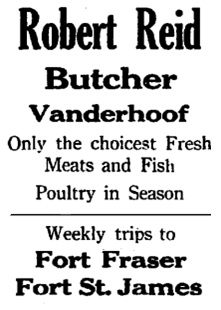 Nechako Chronicle, November 13, 1937, page 2, column 4; http://archive.vanderhooflibrary.com/archive/NechakoChronicle/1937/19371113/nc-1937-11-13-02.pdf.