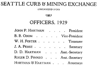 Seattle Curb and Mining Exchange, President's Annual Report and Directory, April 8, 1929, page 4; http://www.orgsites.com/wa/seabc/SeattleCurb_1930[2].pdf.