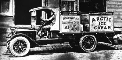 Truck, Vancouver Ice and Cold Storage, about 1923, Vancouver City Archives, CVA 99-1402; https://searcharchives.vancouver.ca/truck-vancouver-ice-and-cold-storage.