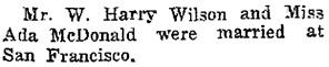 """""""This Week in 1901,"""" Arnprior Chronicle, October 8, 1931, page 6, column 6; https://search.adarchives.org/media/arnprior-chronicle---1931-10-08/arnprior-chronicle---1931-10-08.pdf."""