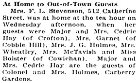 Victoria Daily Colonist, April 24, 1925, page 8, column 2; https://archive.org/stream/dailycolonist0325uvic_46#page/n7/mode/1up.