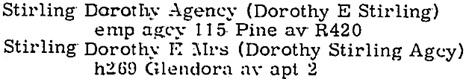 Long Beach, California, City Directory, 1961, page 755, column 1.