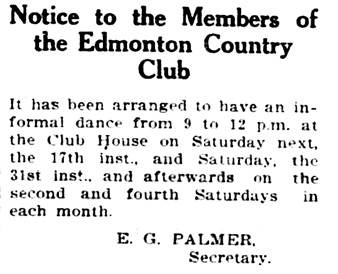Edmonton Journal, January 16, 1914, page 10, column 2.