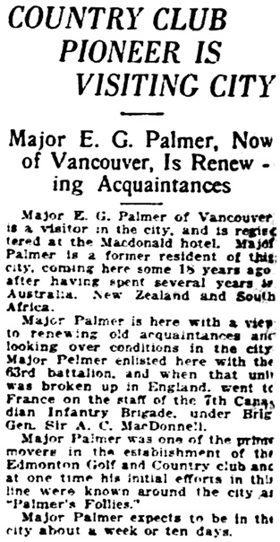 Edmonton Journal, August 1, 1925, page 19, column 8.