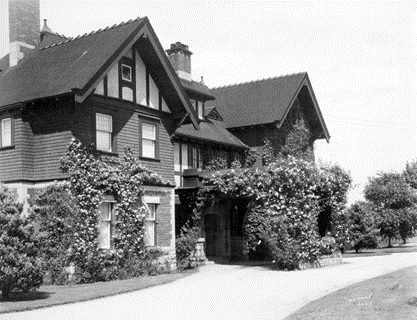 "Exterior of General John W. Stewart's residence (""Roses""), 1675 Angus Drive, June 22, 1922; Vancouver City Archives, Bu P570; http://searcharchives.vancouver.ca/exterior-of-general-john-w-stewarts-residence-roses-1675-angus-drive."