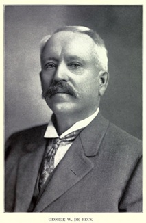 George Ward DeBeck, British Columbia from the Earliest Times to the Present, volume 4, edited by E. O. S. Scholefield, and Frederic William Howay; Vancouver, S. J. Clarke Publishing Company, 1914, page 403; https://archive.org/details/britishcolumbiaf04schouoft/page/403.
