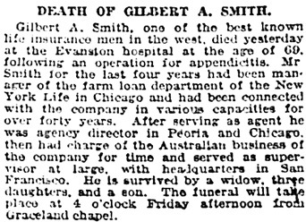 Chicago Tribune, July 17, 1918, page 16, column 2.