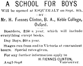 Victoria Daily Colonist, August 16, 1887, page 1, column 1; https://archive.org/stream/dailycolonist18870816uvic/18870816#page/n0/mode/1up