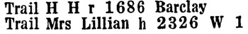 British Columbia and Yukon Directory, 1937, page 1142.