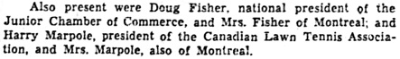 The Ottawa Citizen, August 13, 1957, page 19, columns 3-4.