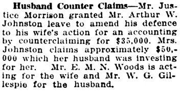 Vancouver Daily World, December 1, 1915, page 16, column 3.