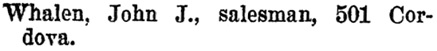 Henderson's BC Gazetteer and Directory, 1897, page 696.