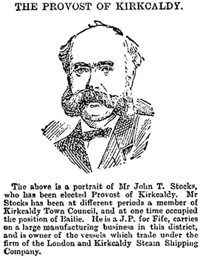 Dundee Courier (Dundee, Scotland), Friday, November 17, 1893, Issue 12598, page 6, column 1.