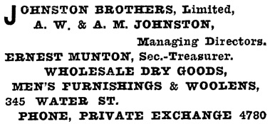 Henderson's City of Vancouver and North Vancouver Directory, 1910, Part 2, page 943.