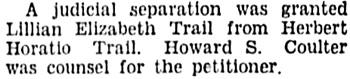 Vancouver Sun, November 13, 1934, page 3, column 2.