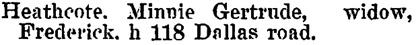 Henderson's BC Gazetteer and Directory, 1901, page 936 (Victoria).