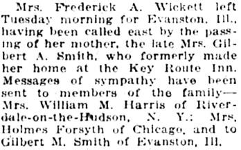 Oakland Tribune (Oakland, California), October 15, 1919, page 6, column 3.