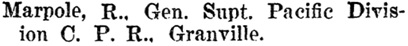 Henderson's BC Gazetteer and Directory, 1897, page 649 (Vancouver).
