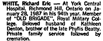 Toronto Globe and Mail, January 31, 1987, page D8, column 4.