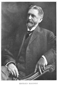 """Richard Marpole,"" British Columbia from the Earliest Times to the Present, volume 3, edited by E. O. S. Scholefield and Frederic William Howay; Vancouver, S.J. Clarke Publishing Company, 1914, page 745; https://archive.org/stream/britishcolumbiaf00schouoft#page/745/mode/1up."