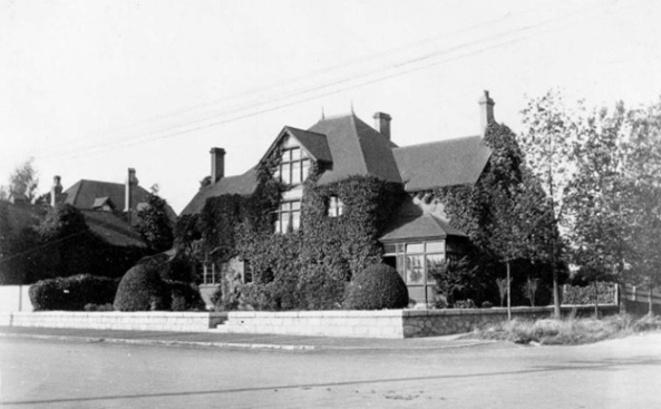 Richard Marpole's home, northwest corner of Howe and Hastings Street, Vancouver, 1903; British Columbia Archives, Item A-07455; https://search-bcarchives.royalbcmuseum.bc.ca/richard-marpoles-home-northwest-corner-of-howe-and-hastings-street-vancouver.