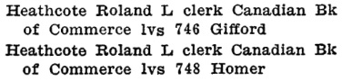 Henderson's City of Vancouver Directory, 1908, page 630. (Homer Street reference is not certain. Vancouver street directory, 1908: Richard Edwards, blacksmith, was at 748 Homer Street.)