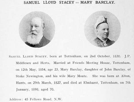 Photographic Pedigree of the Descendants of Isaac and Rachel Wilson, compiled by Robert Seymour Benson; Middlesbrough, William Appleyard and Sons Ltd., printers, 1912, page 540; https://archive.org/details/photographicpedi00bens/page/540.