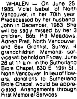Vancouver Sun, June 27, 1985, page C10, image 32.