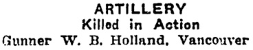 Edmonton Journal, December 6, 1917, page 7, column 7.