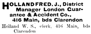 Henderson's City of Winnipeg directory for 1893, page 266; [edited image]; http://peel.library.ualberta.ca/bibliography/921.2.4/212.html.