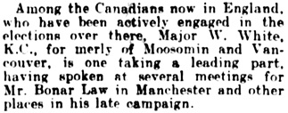 The Winnipeg Tribune, December 19, 1910, page 8, column 4.