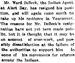 Nanaimo Free Press, May 10, 1906, page 4, column 2.