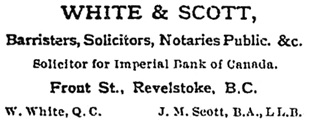 Revelstoke Herald, August 17, 1898, page 1, column 1; https://open.library.ubc.ca/collections/bcnewspapers/xrevherald/items/1.0187027#p0z0r0f: