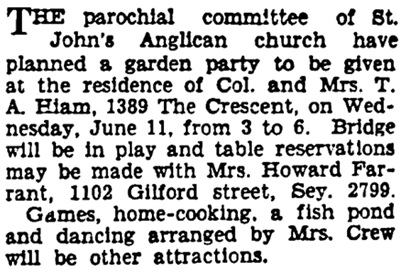 Vancouver Sun, May 28, 1930, page 8, column 5.