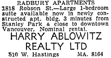 The Vancouver Sun, June 16, 1955, page 42, column 1.