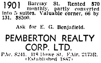 Vancouver Province, February 5, 1944, page 24, column 5.