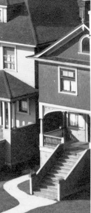 1915 Pendrell Street, about 1910 to 1920; detail from Houses on the north side of the 1900 Block of Pendrell Street; Vancouver City Archives, CVA 371-723; https://searcharchives.vancouver.ca/houses-on-north-side-of-1900-block-of-pendrell-street.