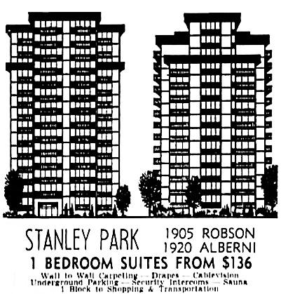 Vancouver Sun, March 27, 1971, page 50, columns 7-8.