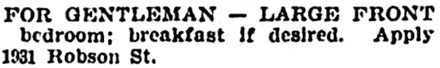 Vancouver Province, February 3, 1903, page 6, column 5.