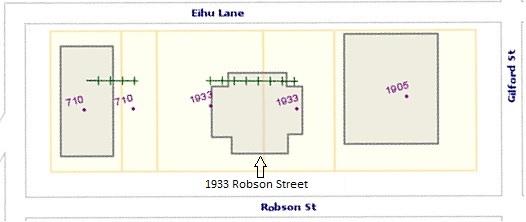 1933 Robson Street, source map: City of Vancouver, Vanmapp; http://vanmapp.vancouver.ca/pubvanmap_net.
