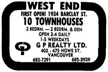 Vancouver Sun, October 3, 1979, page E1, columns 5-6.