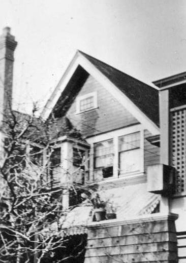 1934 Haro Street - Detail from Alan Brooks Monkill; British Columbia Archives - Item D-06849; https://search-bcarchives.royalbcmuseum.bc.ca/alan-brooks-monkill.