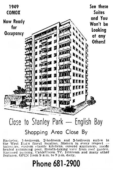 Vancouver Sun, June 22, 1963, page 37, columns 7-8.