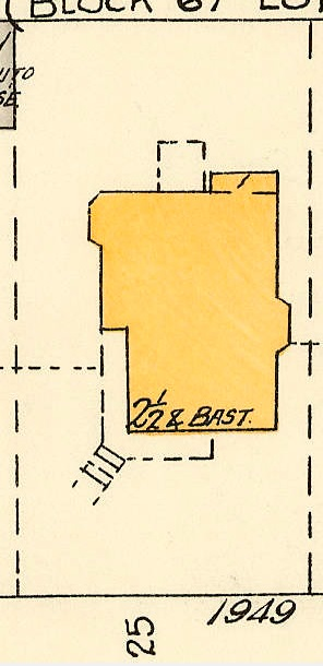 1949 Barclay Street; 1913, detail from Denman Street to Haro Street to Chilco Street to Comox Street; 1972-582.29 – Plate 54; Reference code: AM1594-MAP 383-: 1972-582.29; https://searcharchives.vancouver.ca/plate-54-denman-street-to-haro-street-to-chilco-street-to-comox-street.