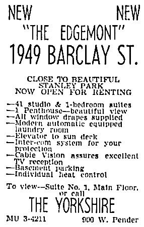 Vancouver Sun, April 26, 1963, page 38, column 1.