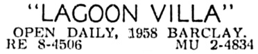 Vancouver Sun, February 8, 1963, page 33, column 2.