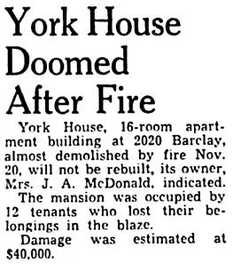 Vancouver Province, November 29, 1949, page 22, column 7.